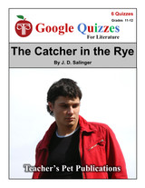The Catcher in the Rye Google Forms Quizzes
