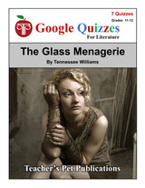 The Glass Menagerie Google Forms Quizzes