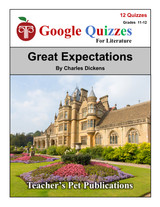 Great Expectations Google Forms Quizzes