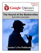 The Hound of the Baskervilles Google Forms Quizzes