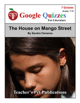 The House on Mango Street Google Forms Quizzes