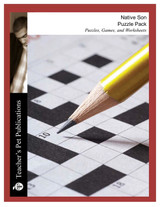 Native Son Puzzle Pack Worksheets, Activities, Games