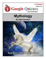 Mythology Google Forms Quizzes