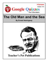 The Old Man and the Sea Google Forms Quizzes