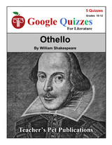 Othello Google Forms Quizzes