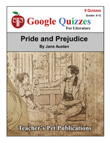 Pride and Prejudice Google Forms Quizzes