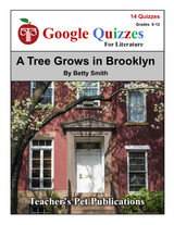 A Tree Grows in Brooklyn Google Forms Quizzes