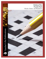 Oedipus Rex Puzzle Pack Worksheets, Activities, Games