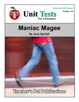 Maniac Magee Interactive PDF Unit Test