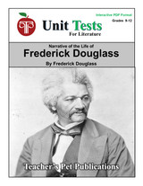 Narrative of the Life of Frederick Douglass Interactive PDF Unit Test