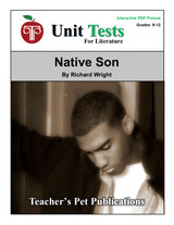 Native Son Interactive PDF Unit Test