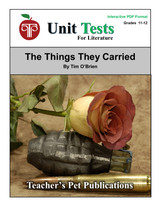 The Things They Carried Interactive PDF Unit Test