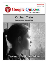 Orphan Train Google Forms Quizzes