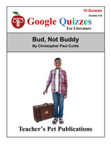 Bud Not Buddy Google Forms Quizzes