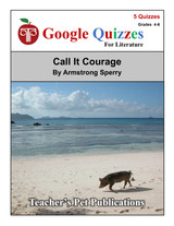 Call It Courage Google Forms Quizzes