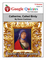 Catherine Called Birdy Google Forms Quizzes