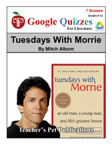 Tuesdays With Morrie Google Forms Quizzes