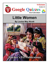 Little Women Google Forms Quizzes