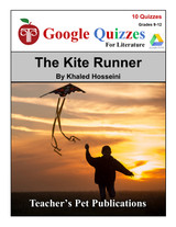 The Kite Runner Google Forms Quizzes