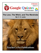 The Lion The Witch And The Wardrobe Google Forms Quizzes