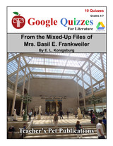 From the Mixed-Up Files of Mrs. Basil E. Frankweiler Google Forms Quizzes