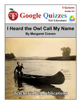 I Heard The Owl Call My Name Google Forms Quizzes