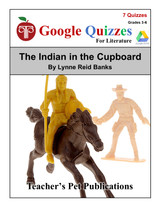 The Indian In The Cupboard Google Forms Quizzes