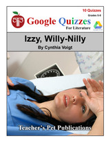 Izzy Willy Nilly Google Forms Quizzes