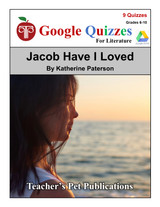 Jacob Have I Loved Google Forms Quizzes