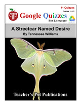 A Streetcar Named Desire Google Forms Quizzes