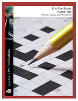 Poe Stories Puzzle Pack Worksheets, Activities, Games