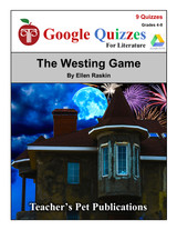 The Westing Game Google Forms Quizzes