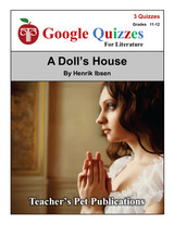 A Doll's House Google Forms Quizzes
