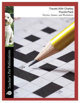 Travels With Charley Puzzles, Worksheets, Games | Puzzle Pack