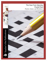 The View From Saturday Puzzle Pack Worksheets, Activities, Games