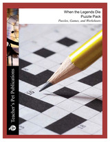 When the Legends Die Puzzle Pack Worksheets, Activities, Games