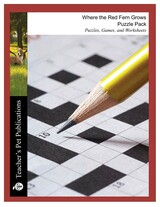 Where the Red Fern Grows Puzzle Pack Worksheets, Activities, Games
