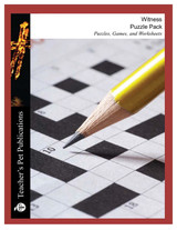 Witness Puzzle Pack Worksheets, Activities, Games