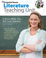 I Know What You Did Last Summer Prestwick House Novel Teaching Unit