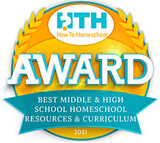 We won! Best Middle & High School Curriculum 2021!