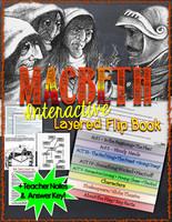 Macbeth Novel Study Flip Book
