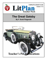 The Great Gatsby LitPlan Lesson Plans (Download)
