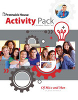 Of Mice and Men Activities Pack