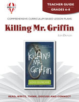 Killing Mr. Griffin Novel Unit Teacher Guide