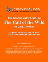 The Call Of The Wild Grammardog Guide