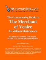 The Merchant of Venice Grammardog Guide