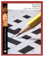 Homecoming Puzzle Pack Worksheets, Activities, Games