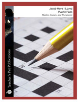 Jacob Have I Loved Puzzle Pack Worksheets, Activities, Games