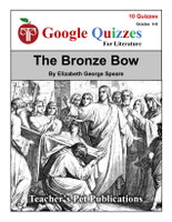 The Bronze Bow Google Forms Quizzes