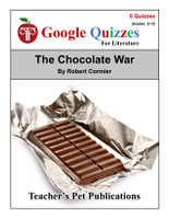 The Chocolate War Google Forms Quizzes